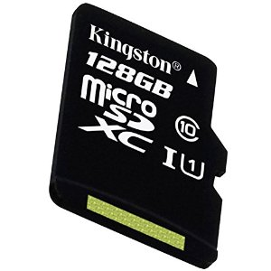 kingston sdcx10 128gb carte micro sdhc sdxc classe 10 uhs i de 128go vitesse minimum de 10mb s. Black Bedroom Furniture Sets. Home Design Ideas
